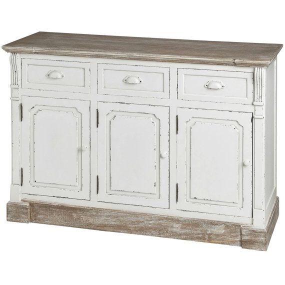 New England Hall Unit With Three Drawers And Three Cabinets. Find This Pin  And More On Shabby Chic Furniture ...