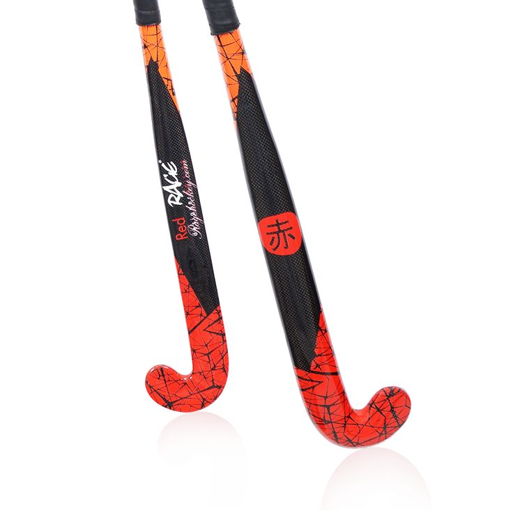 RAGE Red - Carbon #fieldhockey stick