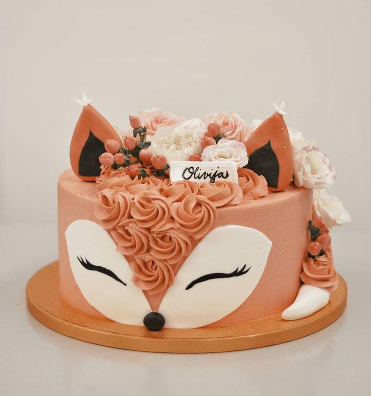 "Emazing Creations auf Instagram: ""Pretty Fox"" #emazingcreations #cake #cake …   – Torturi"