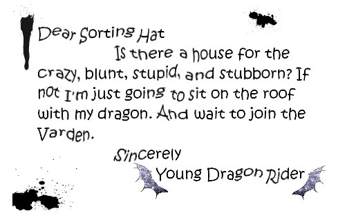 Oh how I love this. Eragon and Harry Potter are my two favorite book series.