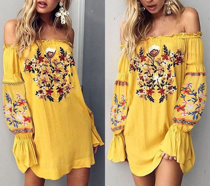 Cool Amazing Women's Summer Off Shoulder Floral Beach Party Cocktail Evening Short Mini Dress 2017/2018 Check more at http://fashionweekdaily.top/2017/08/26/amazing-womens-summer-off-shoulder-floral-beach-party-cocktail-evening-short-mini-dress-20172018/