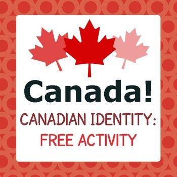 """This is a free item from my """"Canada! Canadian Identity 14 Passages, Activities"""" resource which can be seen here: Canadian Identity 14 Passages and Activities"""