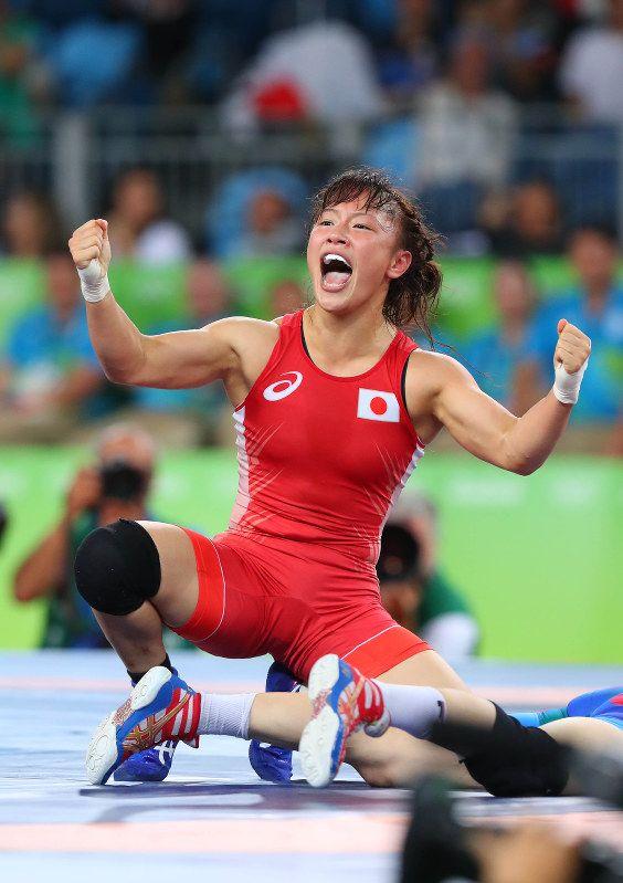 リオデジャネイロ五輪 レスリング女子フリースタイル 48 キロ級では登坂絵莉選手が終了間際、奇跡の大逆転で金メダルを獲得!オリンピック 2016