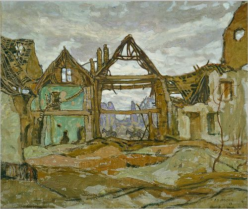A.Y. Jackson (1882-1974) - House of Ypres | Flickr - Photo Sharing!