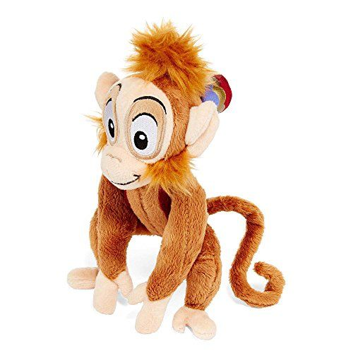 Disney Character Abu from Popular Cartoon Aladdin. Mini Plush Measures 9 inches Tall. Fun for kids and makes a great bedtime pal....