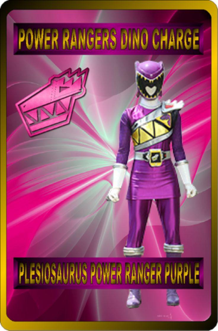 Plesiosaurus Power Ranger Purple by rangeranime on @DeviantArt