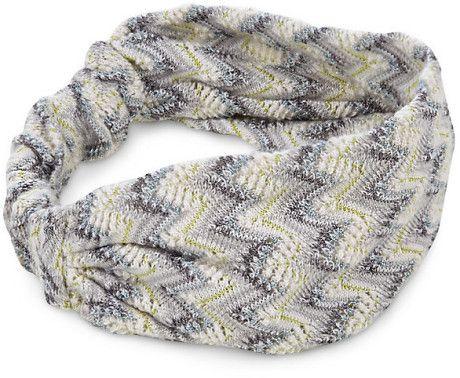 Missoni cashmere zigzag headband