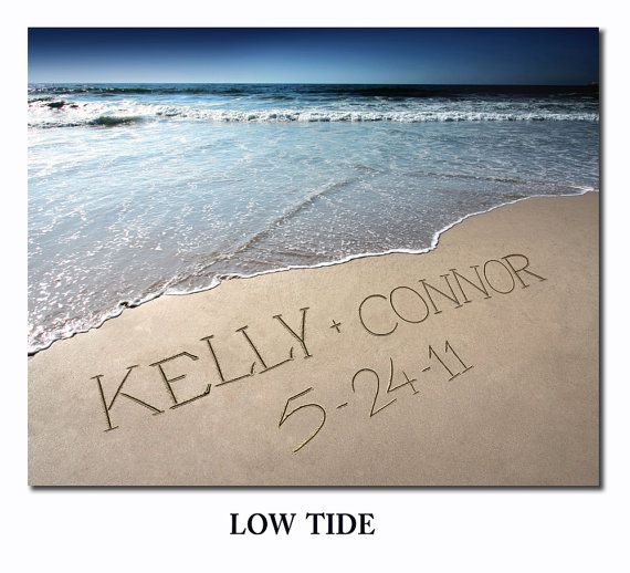 Beach Photo personalized your name written in by fancythisphoto, $35.00
