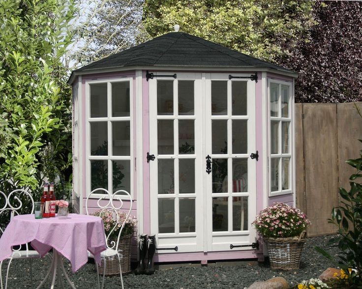 gartenhaus modell katie englische gartenh user. Black Bedroom Furniture Sets. Home Design Ideas