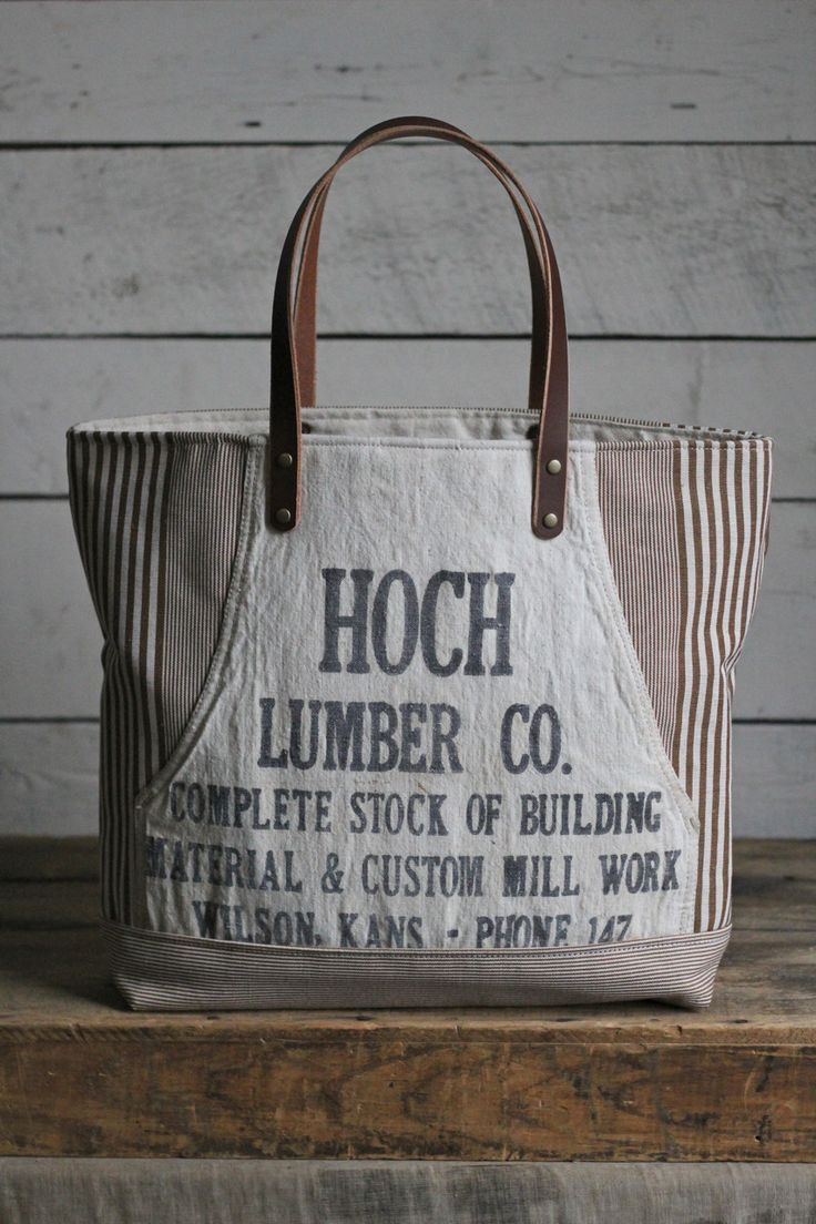 White apron portsmouth nh - Deadstock Striped Canvas 1940 S Era Lumber Apron