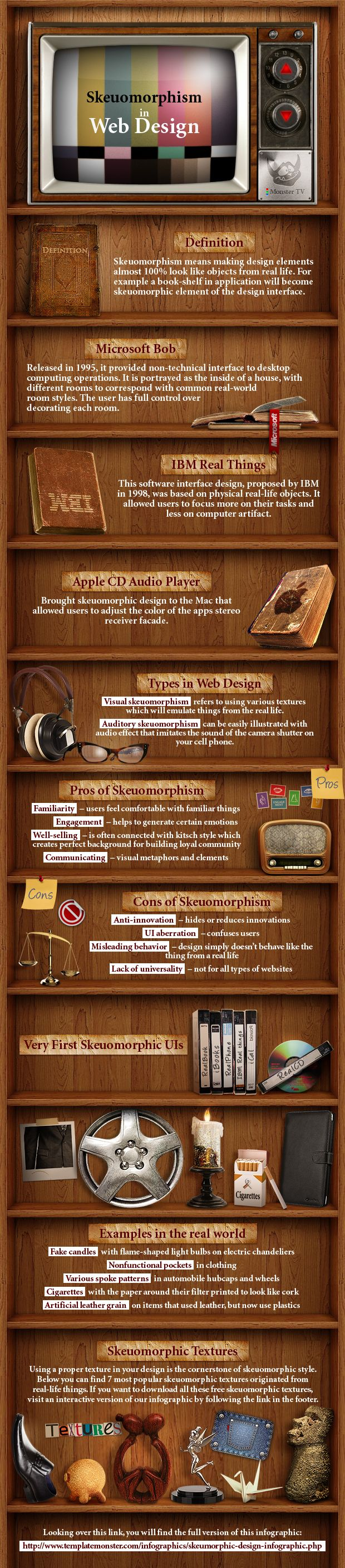GRAPHIC DESIGN – INFOGRAPHIC – an interactive infographic about skeuomorphic design.
