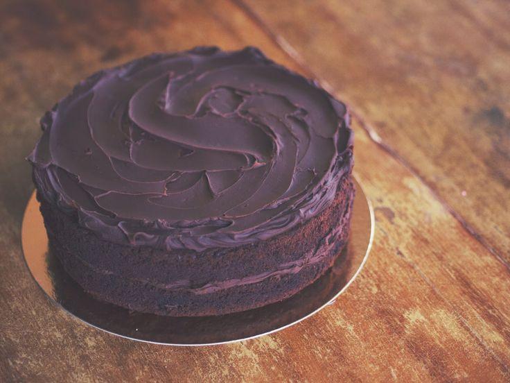 Sokerileipurin kotona – Suklaakakku.