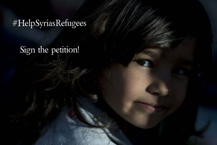 Refugees fleeing Syria struggle to reach Europe safely and legally. After a hazardous journey, their lives are still in danger at Europe's doorstep and reuniting with their loved ones is also a huge challenge.  Therefore, immediate steps are needed:  - Give refugees a save way into Europe. - Protect refugees arriving at Europe's borders. - Reunite families torn apart by crisis. Agree? Sign the petition: http://www.helpsyriasrefugees.eu/en/sign-the-petition.html  Photo: UNHCR/D.Kashavelov
