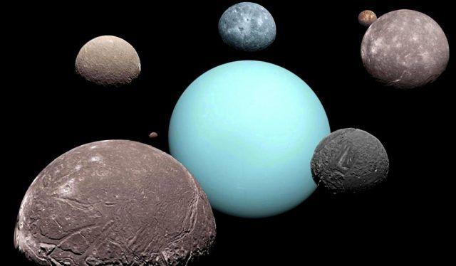 Investigadores afirman que algunas lunas de Urano se encuentran en curso de colisión
