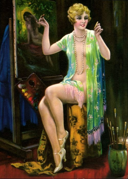 essay on flapper girls Cool girls never get angry they only smile in a chagrined,  the flapper — and, by extension, bow — wasn't a cool girl, or an it girl,.