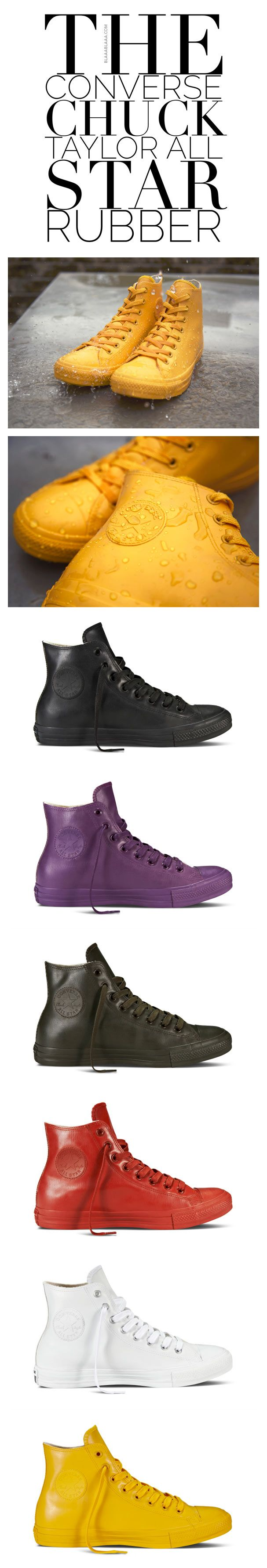 Converse Chuck Taylor All Star Rubber | The House of Beccaria~