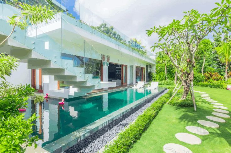12 Cheap Monthly Villa Rentals In Bali With Private Pools Happily Ever Travels Cheap Places To Travel Cheap Countries To Travel Bali Accommodation