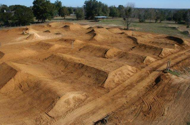Build a dirt trAck in our backyard!