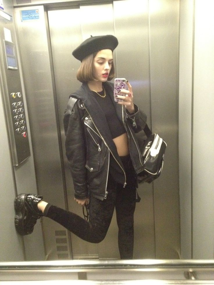 25 Best Ideas About Beret Outfit On Pinterest