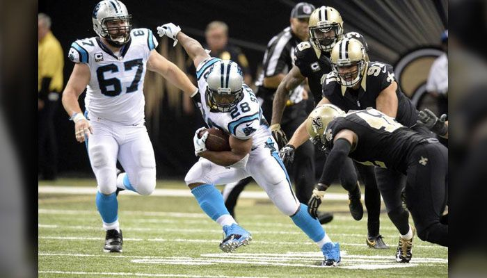 Great escape: Panthers beat Saints 41-38, improve to NFL-best 12 - WBTV 3 News, Weather, Sports, and Traffic for Charlotte, NC