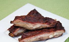 Bob's Sweet-and-Sour Grilled Jumbuck Ribs