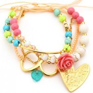 Pulsera Corazón Infinito www.dulceecanto.com - Tienda online de accesorios para mujer #accesorios #pulseras #bisuteria #moda #fashion #colombia