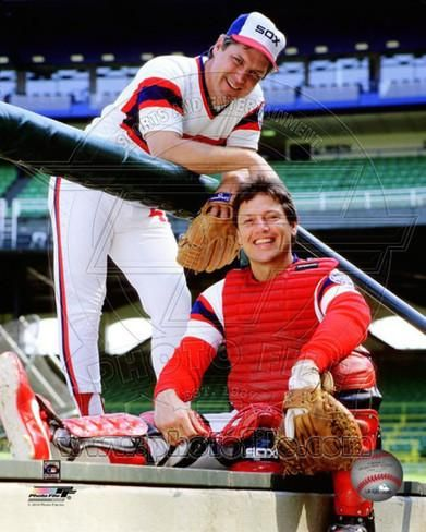 Chicago White Sox - Carlton Fisk, Tom Seaver Photo Photo