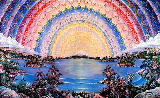 "Joseph Parker the ""grandfather"" of today's visionary artists."