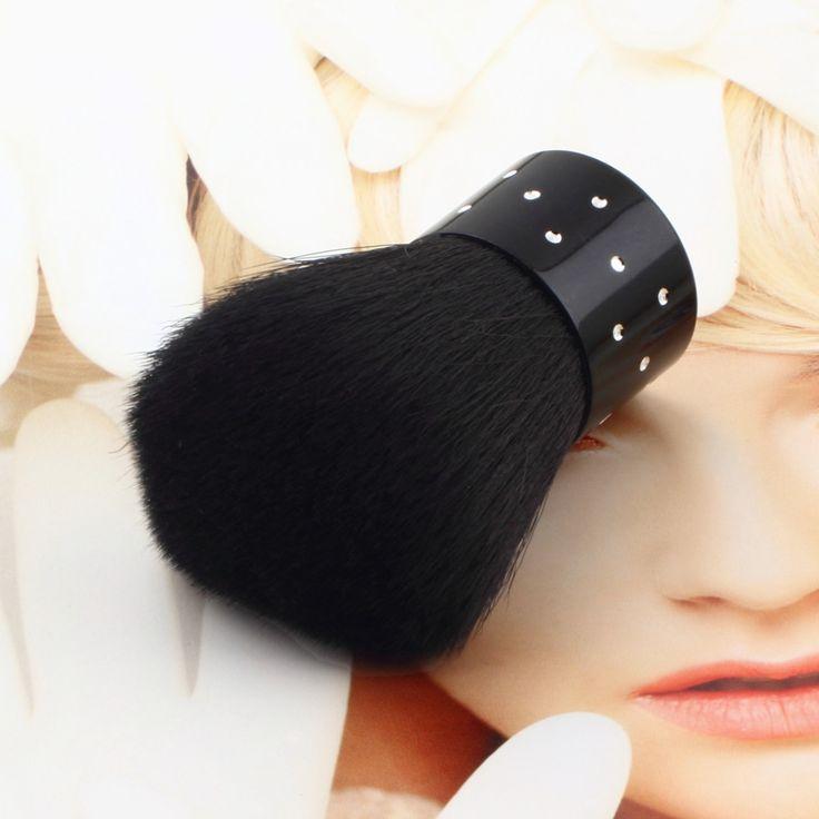 1ピースプロフェッショナルポータブル化粧ブラシは、メイクブラシ化粧品セットキットツールキノコ歌舞伎赤面ブラシ