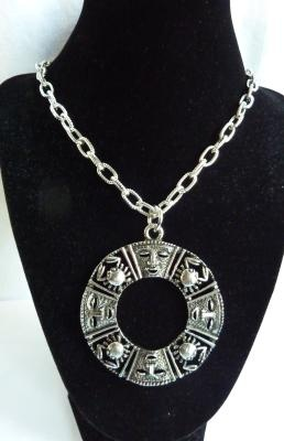 "Vintage Sarah Coventry Zodiac Crab ""Talisman of Love""  Necklace"