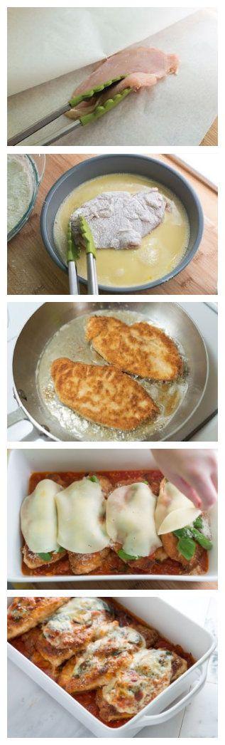 Chicken Parmesan Recipe   toprecipeblog