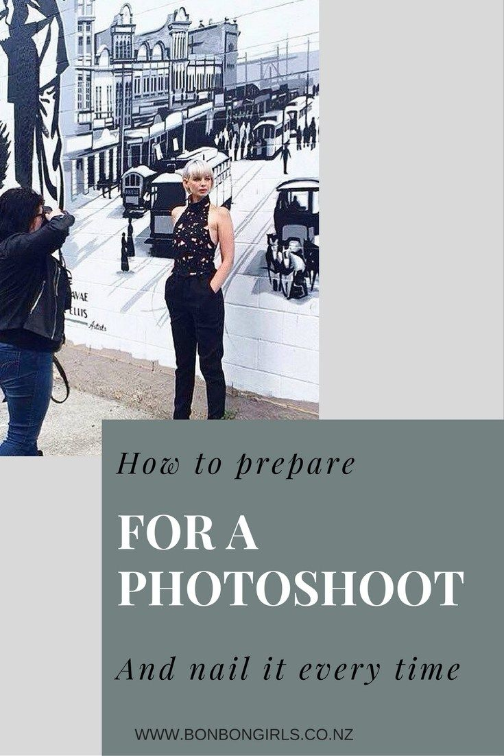 HOW TO PREPARE FOR A PHOTOSHOOT