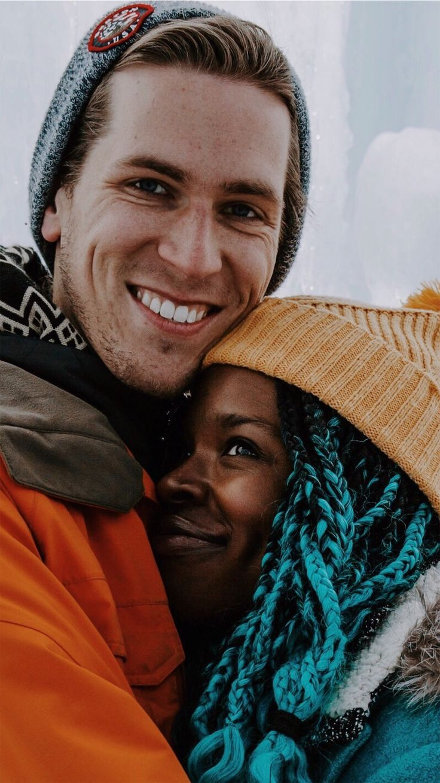 being his girl rocks so hard. ❄️🏰❄️💙 #icecastles #swirllife #bwwm #interraciallove #swirl #interracial #wmbw #interracialcouple