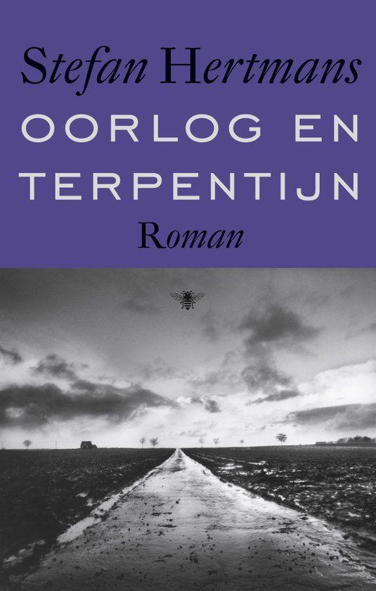 Aanwinst veelvuldig bekroonde oorlogsroman: Oorlog en Terpentijn - Stefan Hertmans.