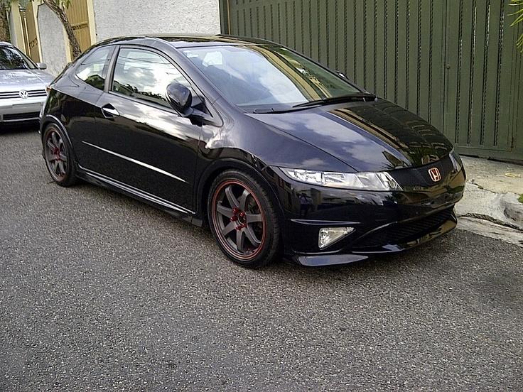Honda Civic Type S Euro 2007.