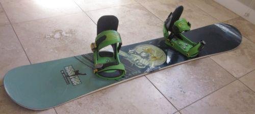 *** Burton Snowboard Custom 148 cm with Burton Custom Bindings $119 ***