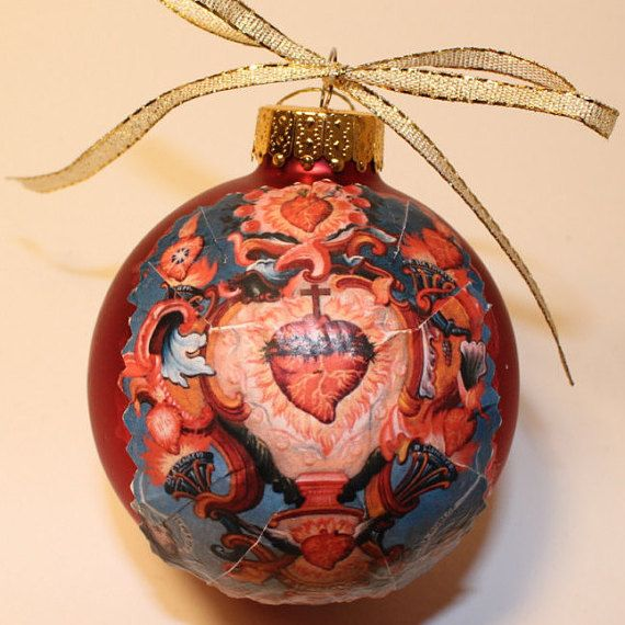Handmade Christmas Ornament Religious Ornament Icon: 15 Best Religious Ornaments Images On Pinterest
