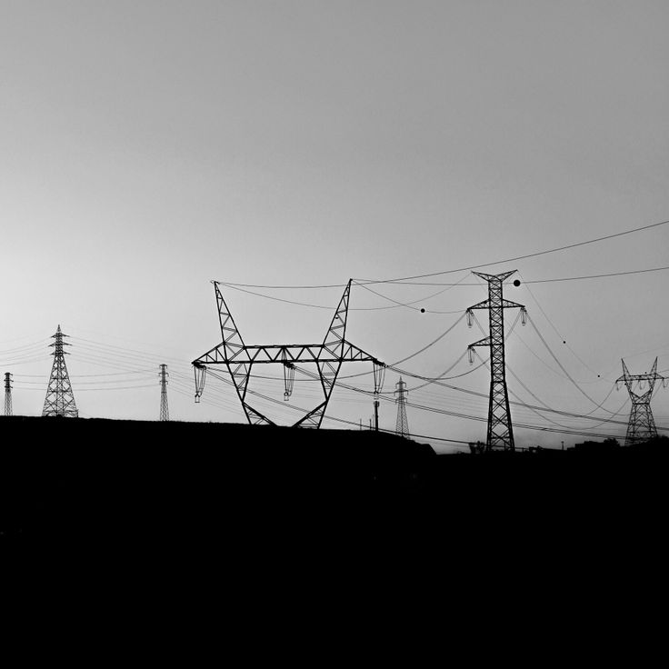 Elek Trik #blackandwhite #bw #electric #electricity #pole #plant #ontheway #highway #landscape #photography #zeiss #85mm #sony #A99