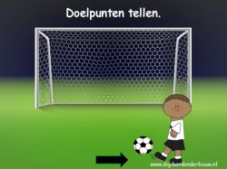Powerpoint Downloads - Sport digibordlessen. Tel de doelpunten. http://digibordonderbouw.nl/index.php/themas/sport/sport/viewcategory/535