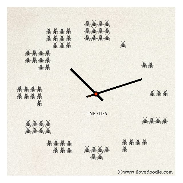 Time Flies by ILoveDoodle, via Flickr