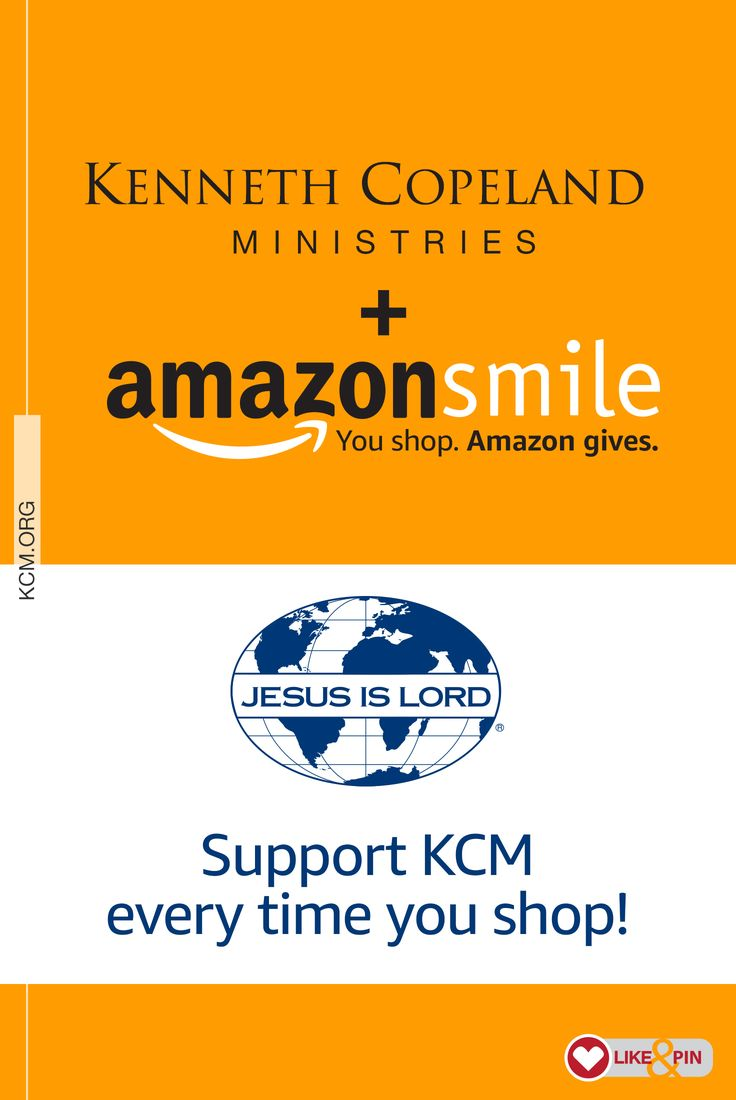 Do you shop Amazon? If so, Amazon has made it easy for a portion of the proceeds from your purchases to go toward your favorite charity through the AmazonSmile Foundation! AmazonSmile Foundation will donate 0.5 percent of the purchase price from your eligible AmazonSmile purchases to the charitable organization of your choice. AmazonSmile is a simple and automatic way for you to support Kenneth Copeland Ministries every time you shop, at no cost to you. Get details and get started today…