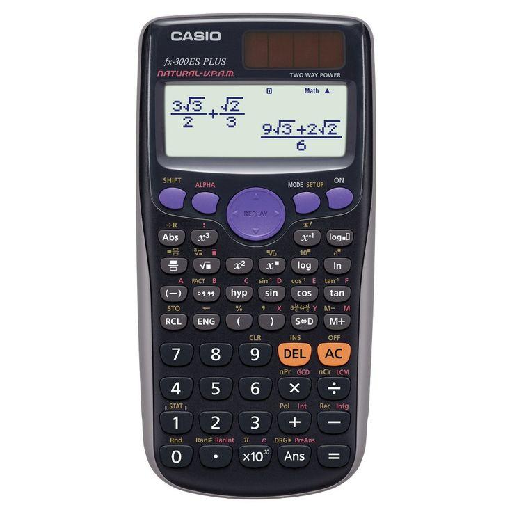 Casio fx300es plus scientific calculator black 300bk