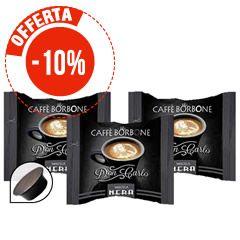 100 CAPSULE COMPATIBILI A MODO MIO CAFFÈ BORBONE DON CARLO MISCELA NERA