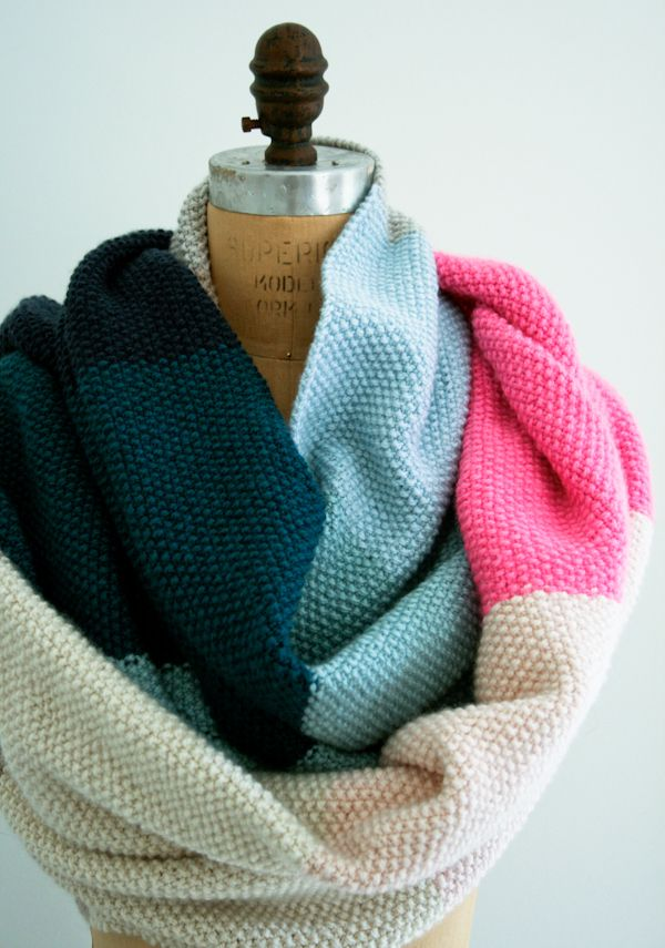 Free Knitting Pattern For Twisted Scarf : worsted twist seed stitch scarf (purl soho) accessories Pinterest Seed ...