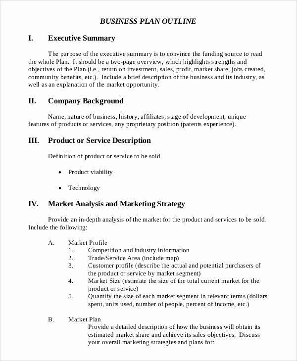 business summary example elegant sample executive summary