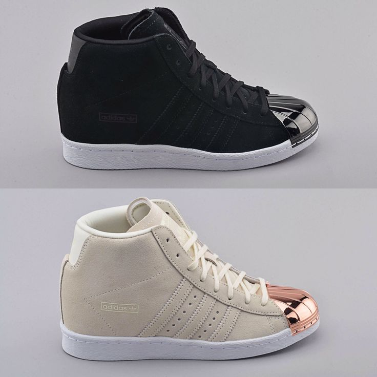 New Adidas Superstar Hi metal toe