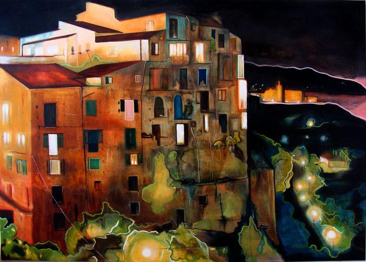 Tropea  Rudi Cotroneo 130x180 cm Oil on canvas
