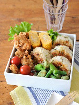 【ELLE gourmet】ゆずこしょうの焼きおにぎり弁当レシピ|エル・オンライン