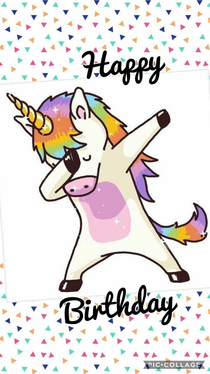 Best Birthday Quotes Unicorn Happy Birthday Alles Gute
