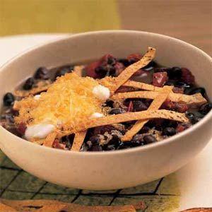 ... Black Beans, Black Bean Soup, Bean Soup Recipes, Bean Chipotle, Bean